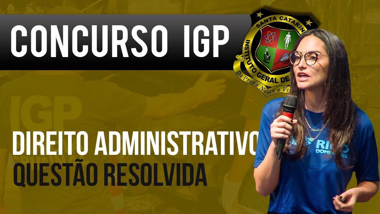 Concurso IGP/SC: Art. 37 ao 41 da Constituição Federal