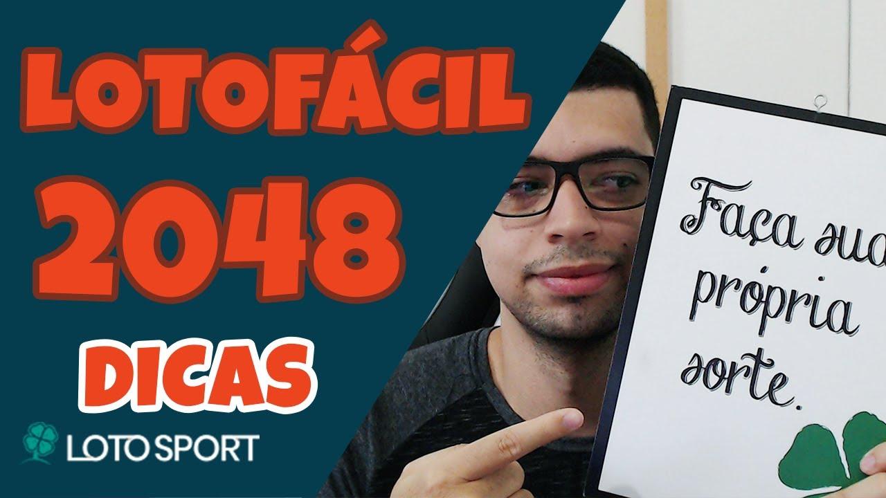Lotofacil 2048 dicas e analises