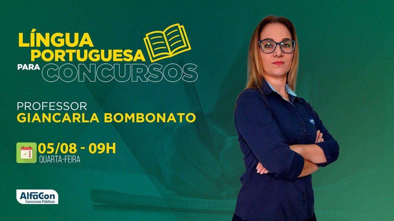 AO VIVO | Aula de Língua Portuguesa para Concursos - AlfaCon