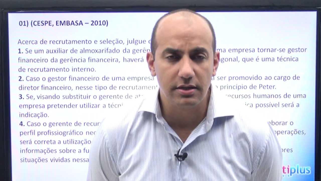 Aula Demonstrativa - Recursos Humanos / Prof. Eduardo Gnisci - Concurso público