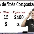 REGRA DE TRÊS COM MACETE - QUESTÃO DE CONCURSO - Prof Robson Liers - Mathematicamente