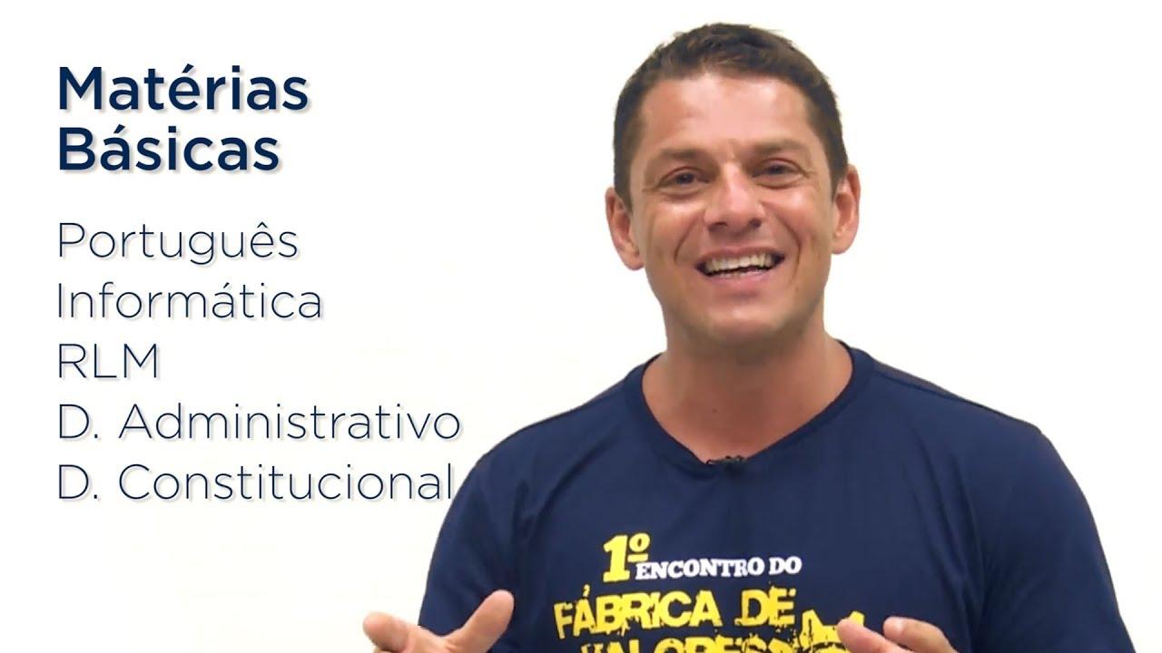 O que estudar para concursos públicos começando do zero - Evandro Guedes - AlfaCon