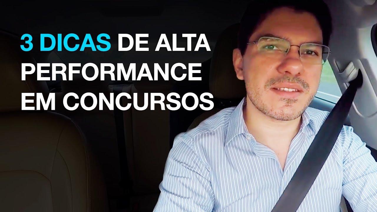 [DICA] 3 Dicas de alta performance em concursos  l 2018 I Gerson Aragão I S21
