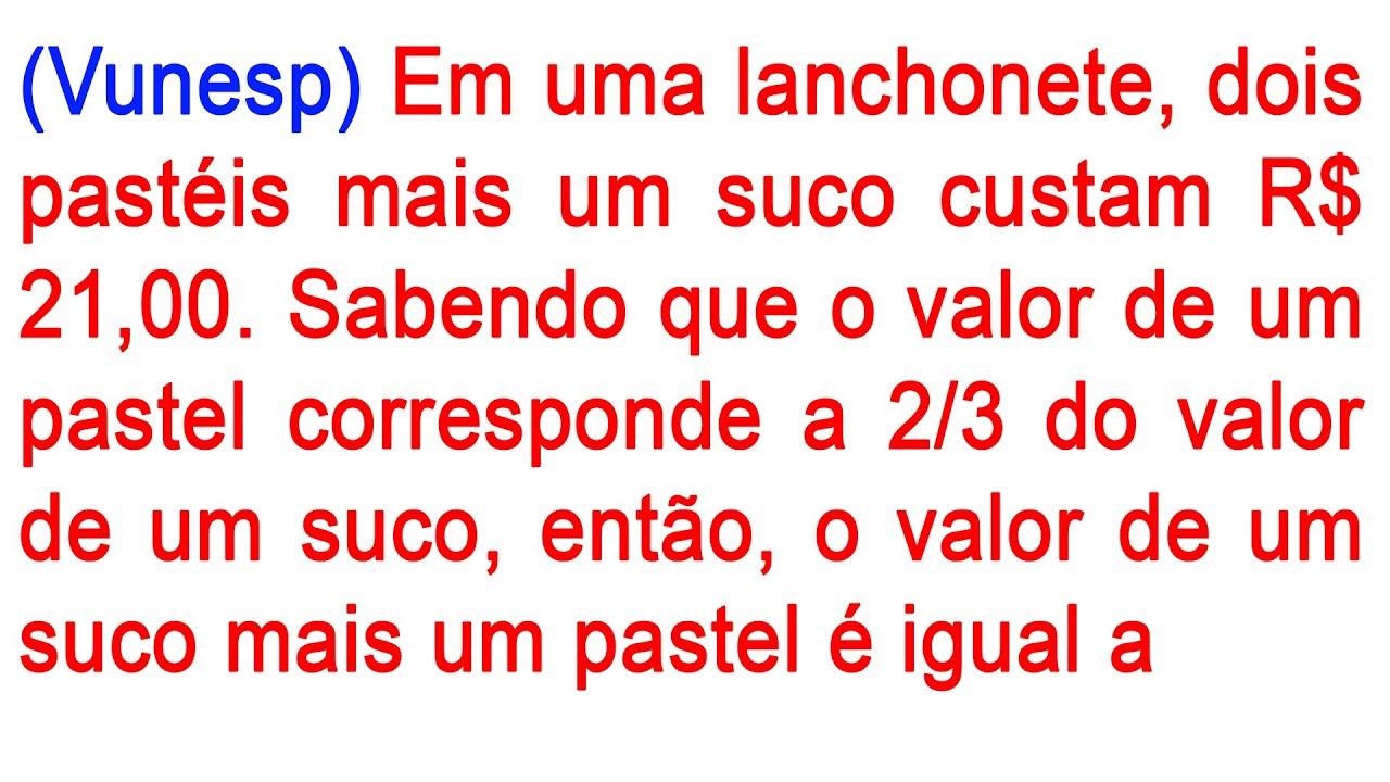 1 QUESTÃO DE CONCURSO DE MATEMÁTICA / VUNESP EQUAÇÃO C FRAÇÃO  O MACETE FRAÇÕES - CONCURSO PÚBLICO