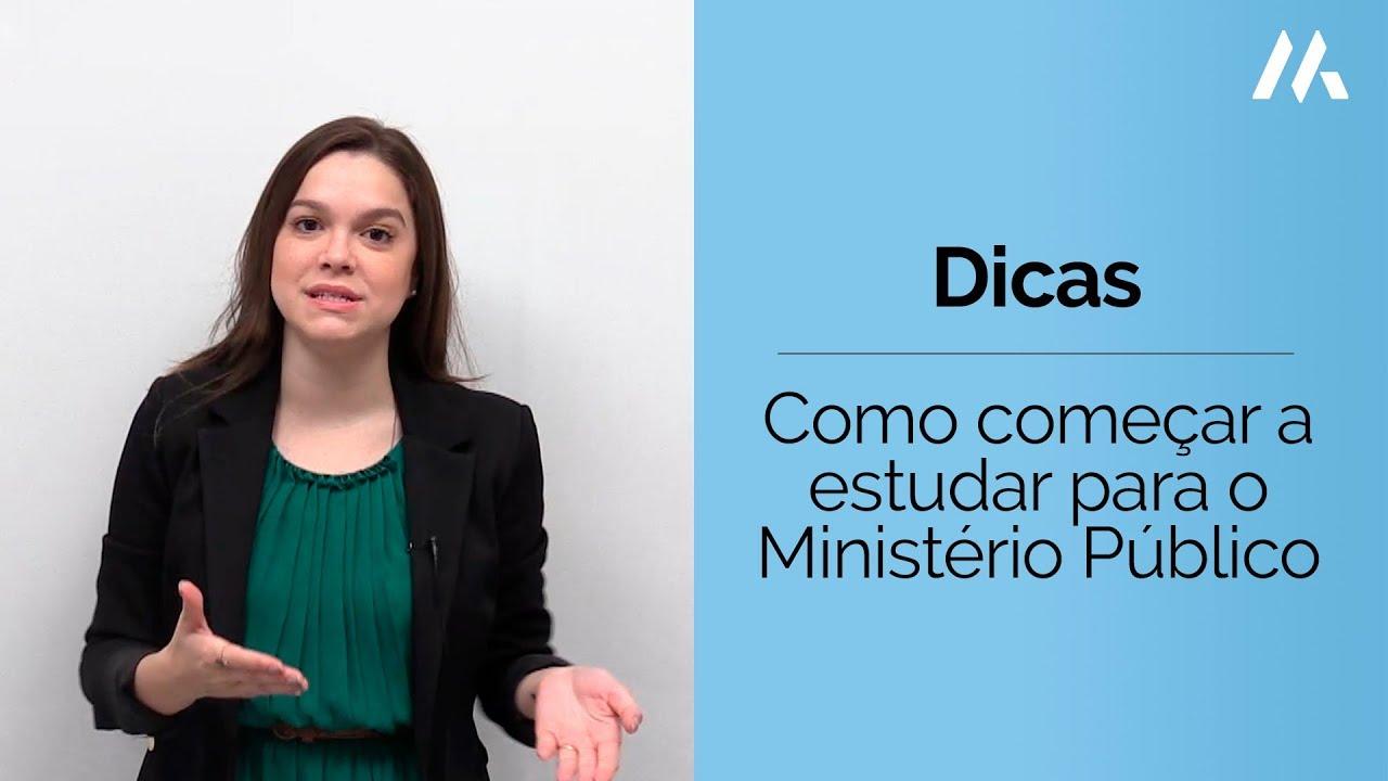 COMO COMEÇAR A ESTUDAR PARA O MINISTÉRIO PÚBLICO | DESCOMPLICA CONCURSOS