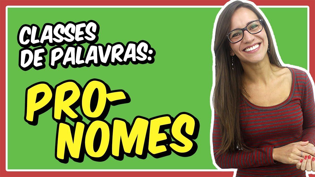 PRONOMES | Aula de Português para concursos, vestibulares, provas, ENEM