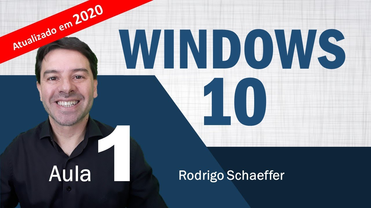 Windows 10 para concursos 2020 - Aula 1 de informática