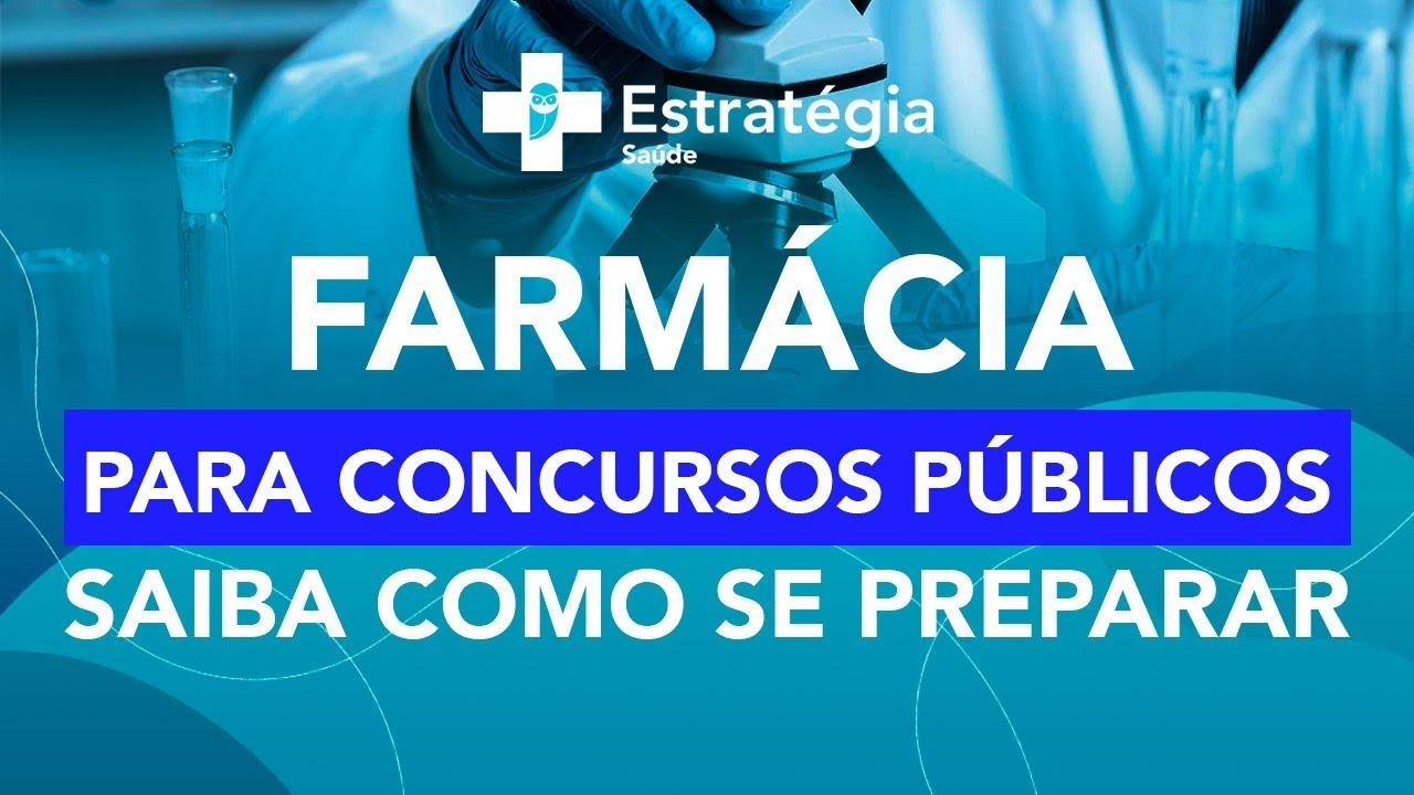 Farmácia para concursos públicos: Saiba como se preparar